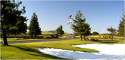 Napa golf in Jamieson Canyon
